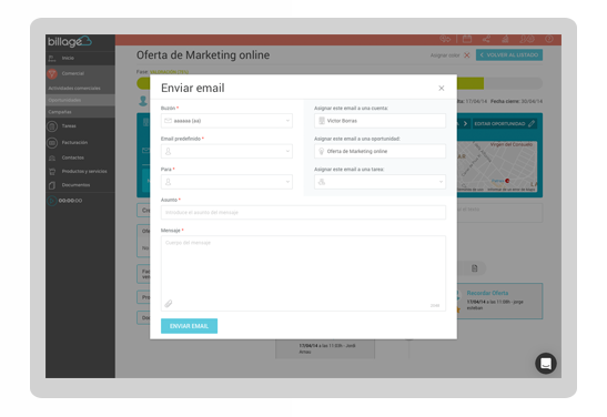 Version 5.0 Adjunta emails