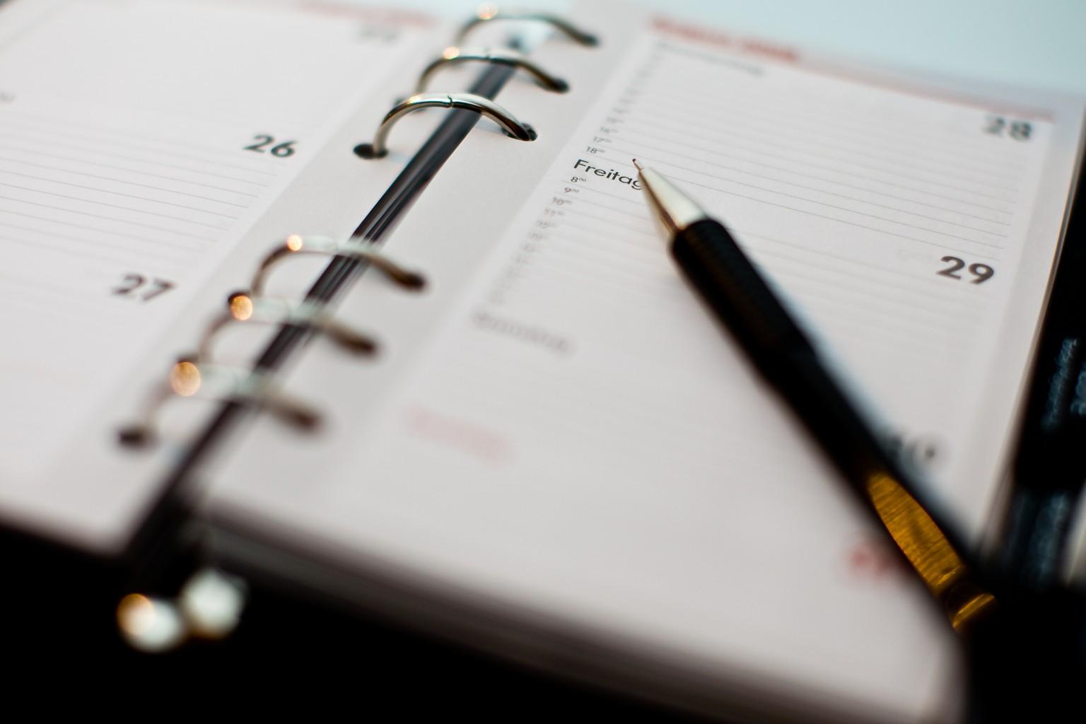 Llevar un control de nuestras tareas nos hará más productivos.