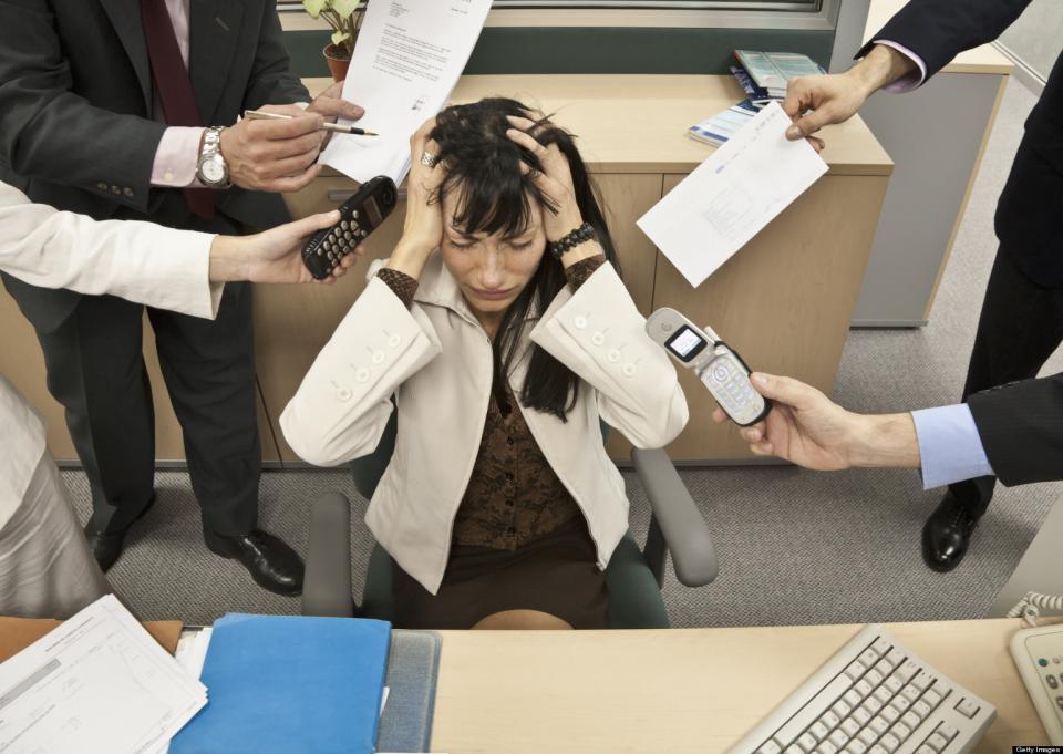 Pocos empleados y mucho trabajo siempre dan el mismo resultado: estrés y baja productividad